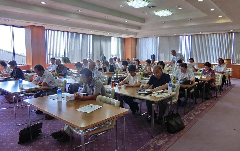 年に4回開催の地域別定例研修会
